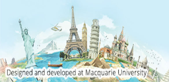 Designed and developed at Macquarie University